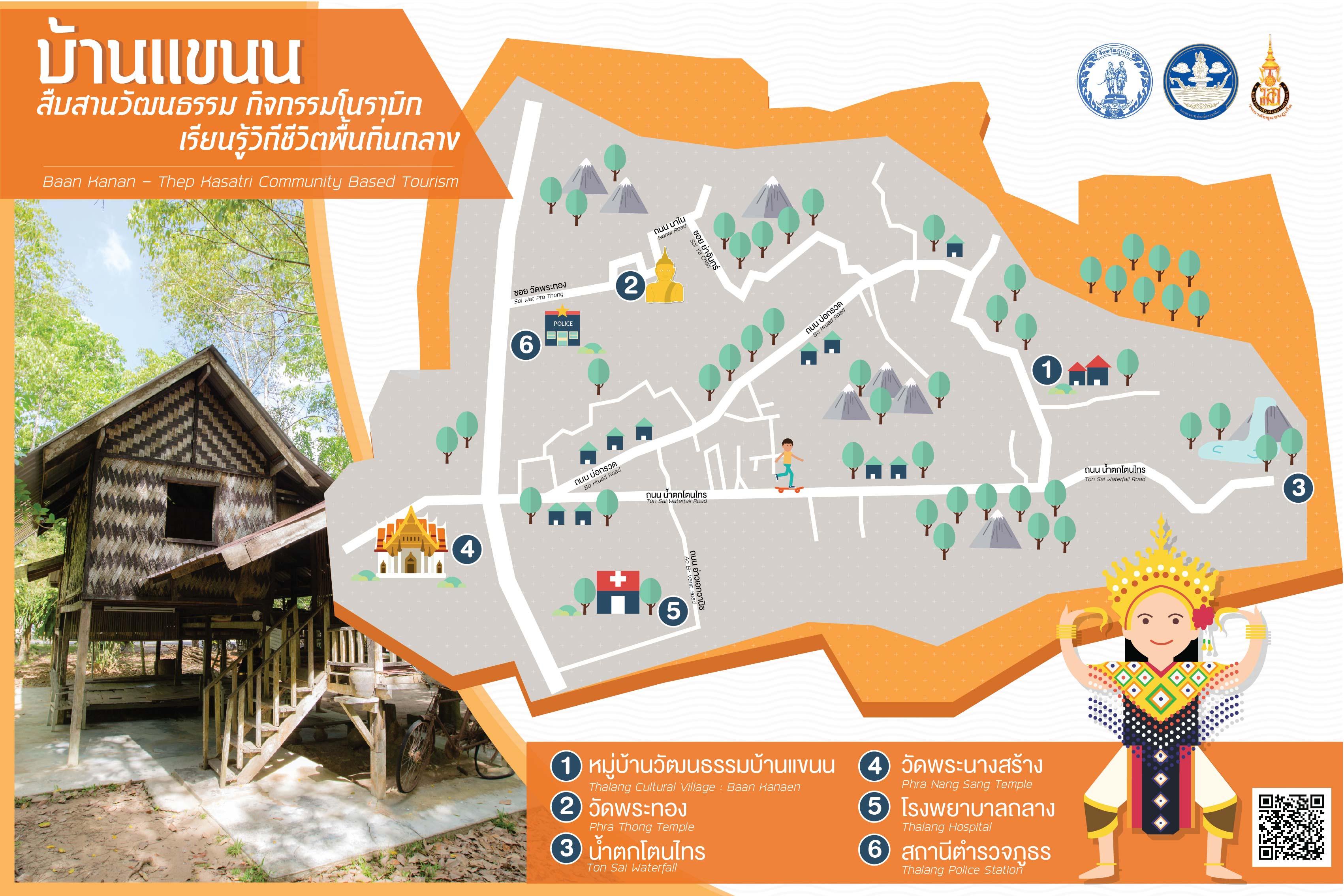 ชุมชนบ้านแขนน(หมู่บ้านวัฒนธรรมถลาง) Baan Kanan Community(Thalang Cultural and Traditional village)