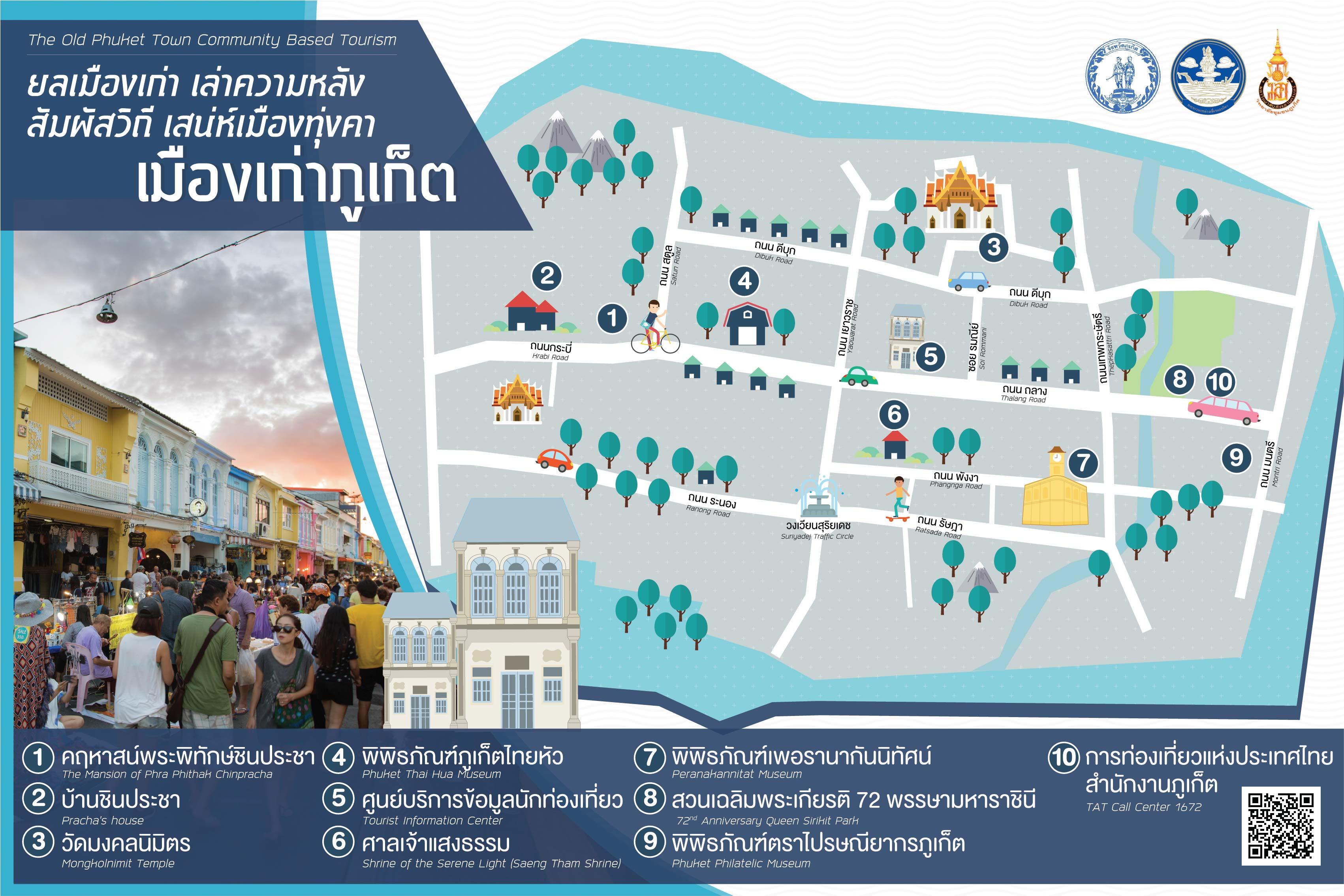 ชุมชนย่านเมืองเก่าภูเก็ต The Old Phuket Town Community
